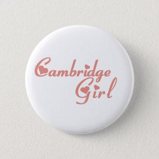 Cambridge-Mädchen Runder Button 5,1 Cm