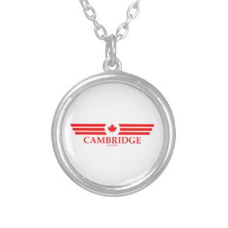 CAMBRIDGE VERSILBERTE KETTE