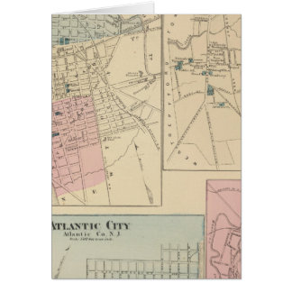Camden, Atlantic City, Woodbury, Mt-Stechpalme Karte