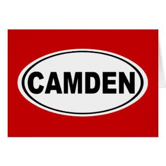 Camden Maine Karte