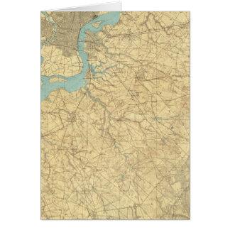 Camden, New-Jersey Karte