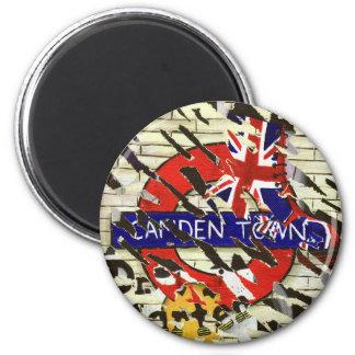 Camden-Stadt London Runder Magnet 5,1 Cm