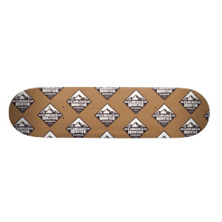 Camelback-Berg - Skateboard-Plattform 18,4 Cm Mini Skateboard Deck