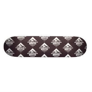Camelback-Gebirgs(dunkel) - Skateboard-Plattform Bedrucktes Skateboard