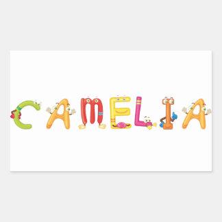 Camelia Aufkleber