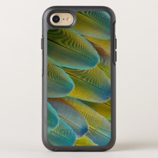 Camelot Macaw-Feder-Entwurf OtterBox Symmetry iPhone 8/7 Hülle