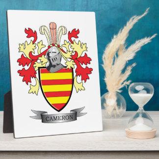 Cameron-Familienwappen-Wappen Fotoplatte