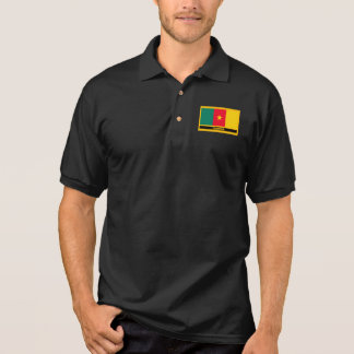 Cameroun-Flagge Polo Shirt