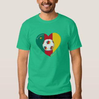 """""""CAMEROUN"""" FOOTBALL Team Soccer, Fußball von T Shirt"""