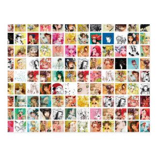 Camilla d'Errico Gitter-Postkarte Postkarte