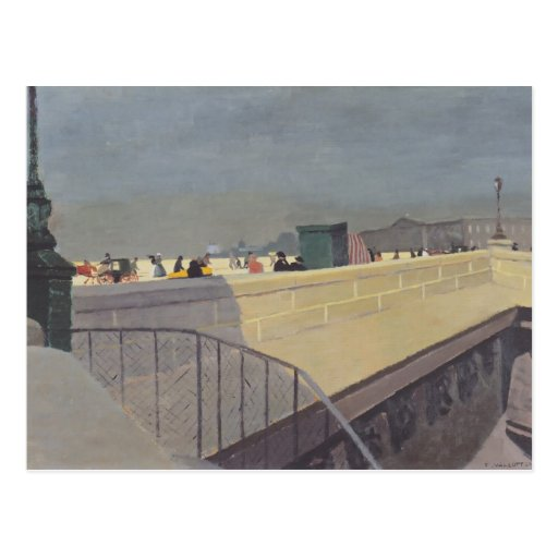 Camille Pissarro- das Pont Neuf Postkarte