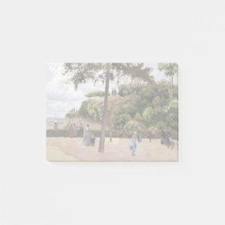 Camille Pissarro der allgemeine Garten bei Post-it Klebezettel