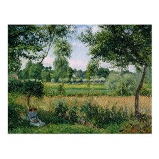 Camille Pissarro - Morgen-Sonnenlicht-Effekt, Postkarte