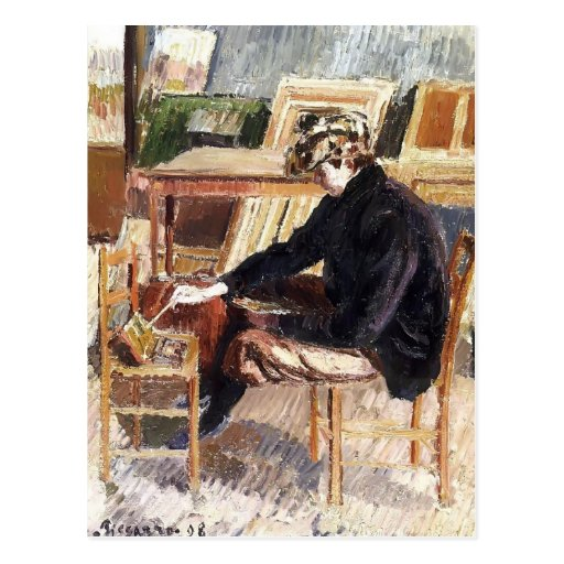 Camille Pissarro- Paul, Studie Postkarte