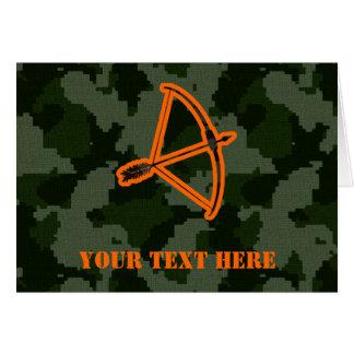 Camouflage-Bogenschießen Karte