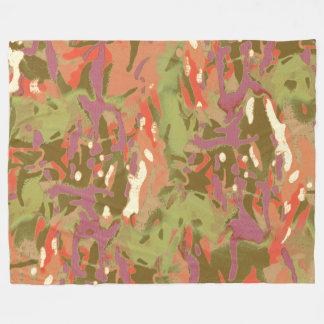 Camouflage-Camouflage, Blick auf mich! Fleecedecke
