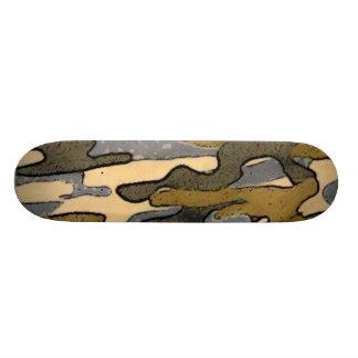 Camouflage-Cartoon Effekt-Skateboard 18,1 Cm Old School Skateboard Deck