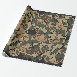"""Camouflage das große Verpackungs-Papier 30"""" x 6' Geschenkpapier"""