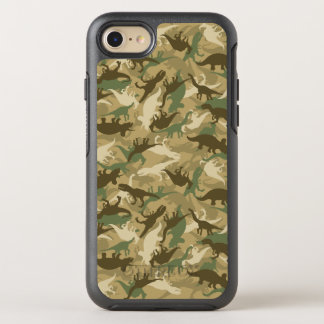 Camouflage-Dinosaurier-Druck OtterBox OtterBox Symmetry iPhone 8/7 Hülle