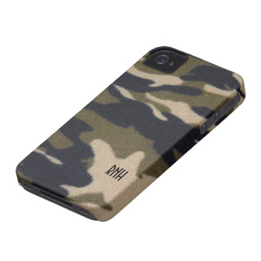 Camouflage-Druck-Muster im Case-Mate iPhone 4 Hülle