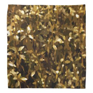 Camouflage-Farbabstraktes Muster Halstuch