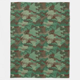 Camouflage Fleecedecke