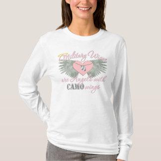Camouflage-Flügel T-Shirt