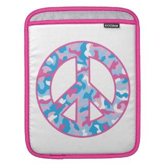 Camouflage-Frieden iPad Sleeve
