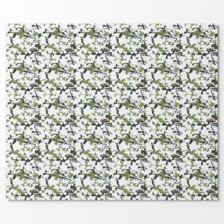 Camouflage Geschenkpapier