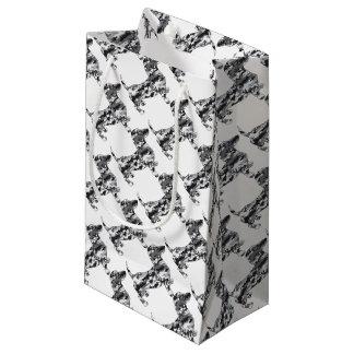 Camouflage-Grau-Dackel Kleine Geschenktüte
