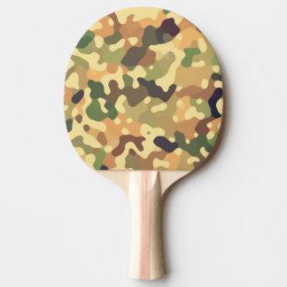 Camouflage-Herbst Tischtennis Schläger