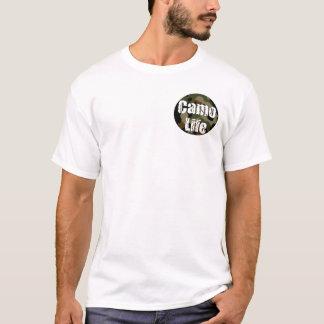 Camouflage-Leben-Logo-und Motto-T - Shirt