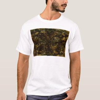 Camouflage-Liebhaber-Blumenblatt-Entwurf T-Shirt