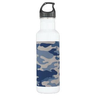 Camouflage-Marine-Blues-Freiheit Bottleworks Edelstahlflasche