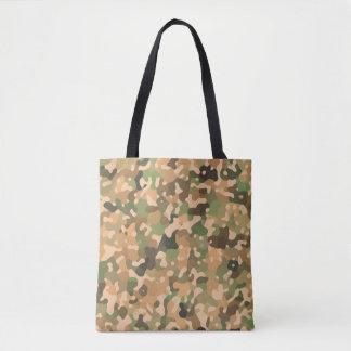Camouflage-Muster - grünes orange Brown-Schwarzes Tasche