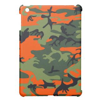 Camouflage-Neonorange iPad Mini Hülle
