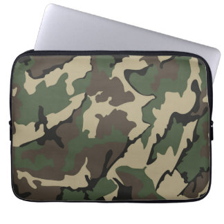Camouflage-Neopren-Laptop 13 Zoll Hülse Laptopschutzhülle