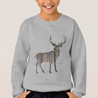 Camouflage-Rotwild Sweatshirt