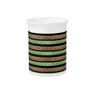 Camouflage-Streifen-Druck Getränke Pitcher