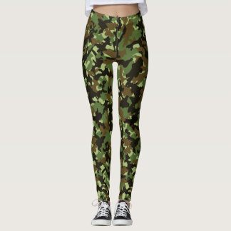 Camouflage-Trend Leggings