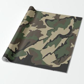 "Camouflage-Verpackungs-Papier 30"" x6 Einpackpapier"