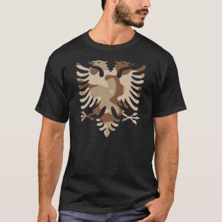 Camouflage-Wüste Albanien T-Shirt