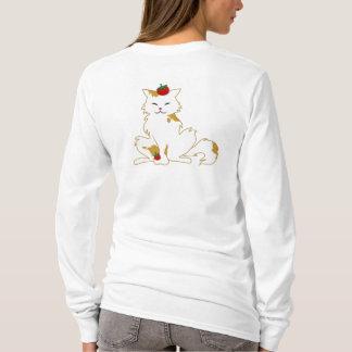 Campari-Katzehoodie-Licht T-Shirt