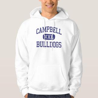 Campbell-Bulldoggen mittlerer Campbell Kalifornien Hoodie