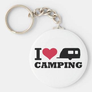 Camping der Liebe I Schlüsselanhänger