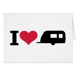 Camping der Liebe I - Wohnwagen Karte