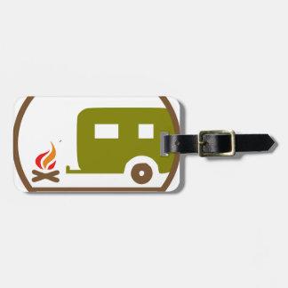 Camping RV-Anhänger und -lagerfeuer Gepäckanhänger
