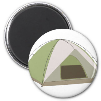 Campings-Zelt Runder Magnet 5,1 Cm