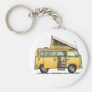 Campmobile Reisemobil Keychain Schlüsselanhänger