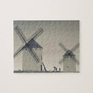 Campo de Criptana, antike La Mancha Windmühlen 2 Puzzle